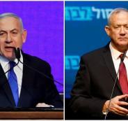 حماس واسرائيل وغانتس