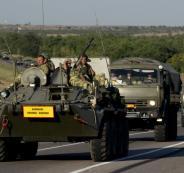 روسيا تحشد قواتها على الحدود مع روسيا