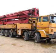 Daewoo-Concrete-Pump-Truck