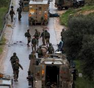 الجيش الاسرائيلي في رام الله