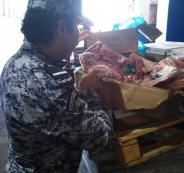 ضبط اطنان من اللحوم الفاسدة في القدس واريحا