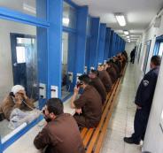 الصليب الاحمر والسجون الاسرائيلية