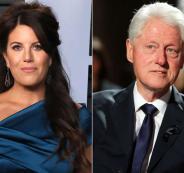 بيل كلينتون ومونيكا