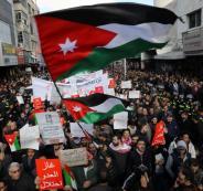 مسيرات في الاردن رفضا لاتفاقيةة الغاز