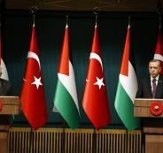 """الرئيس يطلب من الرئيس أردوغان إجراء اتصالات بشأن الوضع في """"الأقصى"""""""