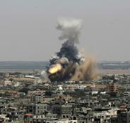شهيد و3 إصابات بقصف من طائرة من دون طيار شرق رفح