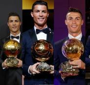 رونالدو والكرة الذهبية