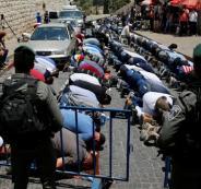 قرار باغلاق مساجد القدس والتوجه لصلاة الجمعة في الأقصى