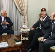 الرئيس يتلقي اتصال هاتفي من هنية في ظل أجواء المصالحة