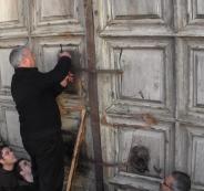 اعادة فتح كنيسة القيامة