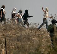 المستوطنون والجيش الاسرائيلي