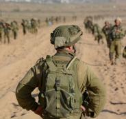 الجيش الاسرائيلي يستعد للحرب