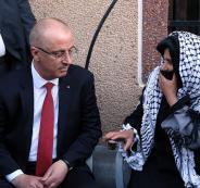 الحمد الله يقدم واجب العزاء باستشهاد المواطن عودة في قصرة جنوب نابلس
