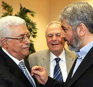 عباس وخالد مشعل