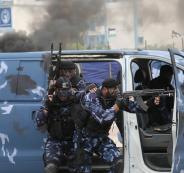 ضبط تجار مخدرات في غزة
