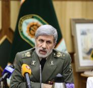 وزير الدفاع الايراني وترامب