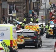 هجوم طعن في اسكتلندا