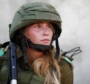اصابة مجندة اسرائيلية بعد ان عضها حمار