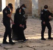 اعتقالات وابعادات للمصلين في الاقصى