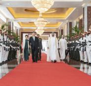 زيارة الرئيس الصيني الى الامارات