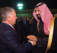 العاهل الاردني وولي العهد السعودي