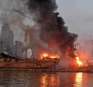 سفينة الامونيوم وانفجار مرفأ بيروت