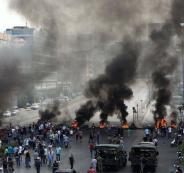 اعمال عنف ضد المتظاهرين في لبنان