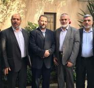 وفد حركة حماس المشارك في حوارات القاهرة
