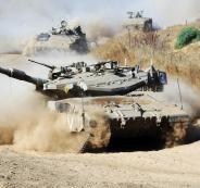الجيش الاسرائيلي واحتلال قطاع غزة