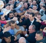 بشار الاسد يؤدي صلاة عيد الأضحى