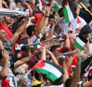 المنتخب الفلسطيني والاسرائيلي