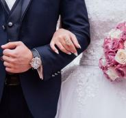 احتراق عروسين