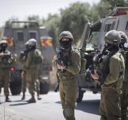 اصابة فتية برصاص الجيش الاسرائيلي في مخيم جنين