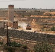 منطقة عازلة بين مصر وقطاع غزة