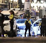 الشرطة الاسبانية تقتل خمسة أشخاص يحملون أحزمة ناسفة قرب برشلونة