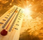 ارتفاع في درجة الحرارة في بلاد الشام