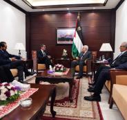 لقاء بين الرئيس عباس والمبعوث السويسري لعملية السلام