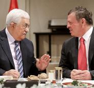 عباس وملك الاردن