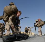 هجوم يستهدف اكبر قاعدة امريكية في افغانستان