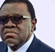 الرئيس الناميبي