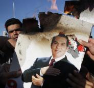 أول ظهور للرئيس التونسي الأسبق زين العابدين في حفل زفاف ابنته