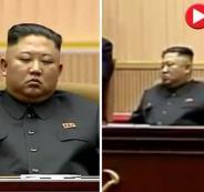 الزعيم الكوري الشمالي يغط في النوم