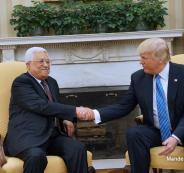 الرئيس عباس وترمب
