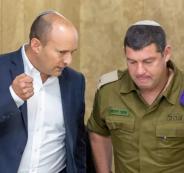 وزير الجيش الاسرائيلي وقطاع غزة