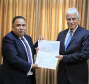 الهند والمدارس الفلسطينية