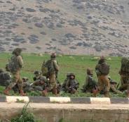 تدريبات عسكرية اسرائيلية في طوباس