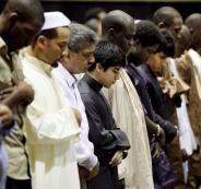التهنئة قبل صلاة عيد الفطر