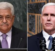 عباس يرفض لقاء بنس