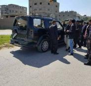 استهداف موكب الحمد الله في غزة