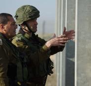 الجيش الاسرائيلي في قطاع غزة